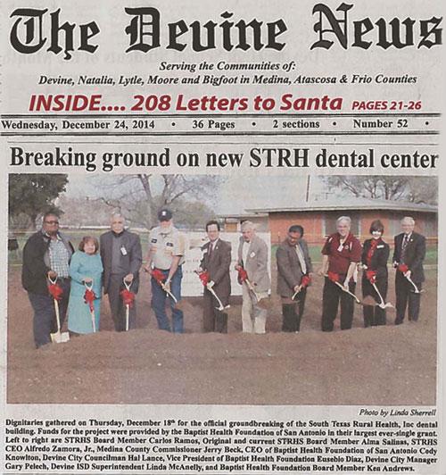 Devine-News-Groundbreaking-Article