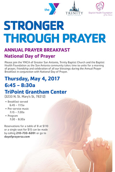 2017 National Day of Prayer Invitation