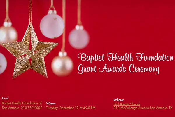 2017 BHFSA Grant Awards Ceremony