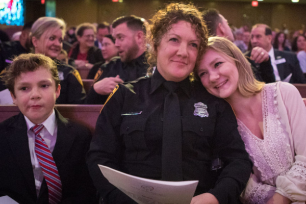 SAPD Mental Health Detail Honored