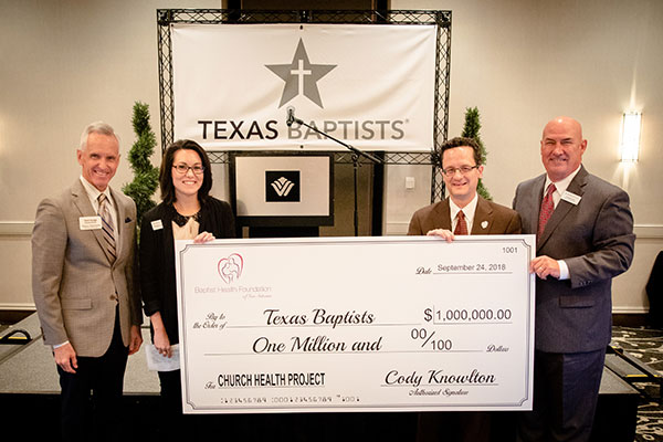 Texas Baptists Receives $1 Million to Fund Church Health